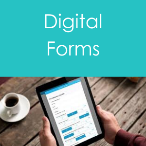 Home page icon for Digital forms development