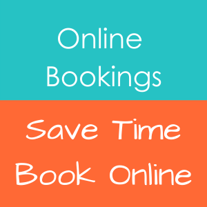 Online bookings product icon on home page