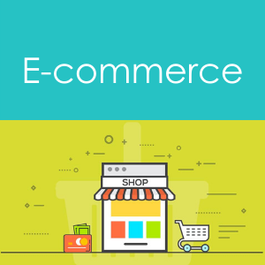 E Commerce clickable icon on aptfin home page